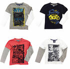 Cargo Boys T-Shirt Kids Official Printed Long Sleeve Children Tops New 2-6 Years