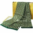 Great Gifts!  Luxurious Mens 100% Silk Long Scarf/Cravat Scarives Double Layer