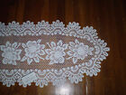 "Heritage Lace Rose 17""x 72"" Table Runner"