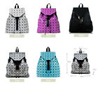 HighEnd Style Geometry Origami Paper Art Lucent Laser Effect Fabric Backpack Bag