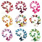 Внешний вид - 12pcs 3D Butterfly Sticker Art Design Decal Wall Decals Kids Home Decor Magnet