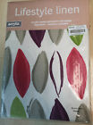 Acrylic Coated Tablecloth, Rectangle, Square, Circle. Wipe clean Multi  Leaf.