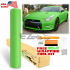 *Premium MATTE FLAT GREEN Vinyl Car Wrap Sticker Decal Sheet Film Bubble Free