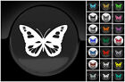 Butterfly Sticker Wall laptop Car Petrol Fuel Cap Filler Cover Choice 21 Colours