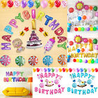 "16 Inch ""HAPPY BIRTHDAY"" Letters 13 Pcs Foil Balloons Birthday Party Decoration"