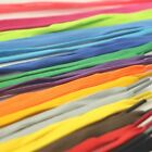 1 Pair Flat Polyester Shoelaces Fit for All Shoes Types Sneaker/ 20 Colors