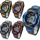 Child Boy's Girl's Waterproof Watch Multifunction Sports Electronic Watches E94