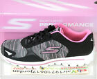 Skechers Wmns Go Walk 2 Black Grey Pink 13860ITBKPK US 6~8.5 Casual Running