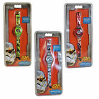 STAR WARS Digital Watch with Time & Date display Official Merchandise 3 Designs