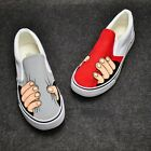 2016 New Hot Style Women Men Hand-painted Canvas Shoes For Girls Boys Sneaker