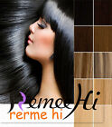 Clip In 100% remy Human Hair Extension One Piece 40g  width 15cm with 3 clips
