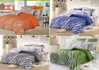Trees Sheet Set: 1 Fitted Sheet, 1 Flat Sheet & 2 Pillowcases, Full/Queen/King
