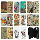 Alice In Wonderland Vintage Flip Case Cover for Samsung Galaxy Mini - G35