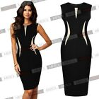 Knee Length Evening Party Business Bodycon Pencil Party Dresses