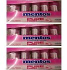 10/15 Pack Mentos Bubble Fresh Chewing Gum Pure Fresh,Green Tea Extract,XYLITOL