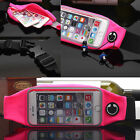 Waterproof Sport Running Gym Waist Belt Bag Pouch Wallet Case For iPhone 5 6S