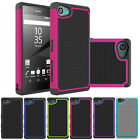 Hybrid Dual Layer Rugged Shockproof Case Cover For Sony Xperia Z5 Compact/mini
