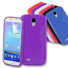 S-Line Gel Back Case Skin Cover for Samsung Galaxy S4 i9500 + Screen Protector
