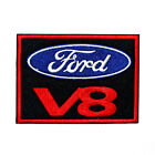 Ford V8 Sports Car Logo Mustang Focus GT Racing Suit Jacket Shirt Iron on Patch