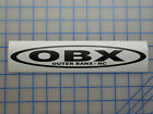 """Obx Outer Banx Nc Decal 10"""" Beach Fishing Ocean Banks Corolla Rental Coast Surf"""