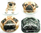 Pug Dog Compact Mirror - Make UP Mirror - Travel Mirror - Choice of 4 Designs