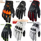All new Fox Racing Bomber Motorcycle Bike Gloves White/Black/Green/Red/Orange