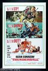James Bond 007 Thunderball Movie Poster Multi Size Canvas Print Art Sean Connery £65.0 GBP on eBay