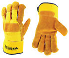 Better Grip Premium Grade Insulated Split Cowhide Leather Palm Work Glove BGBY4Y
