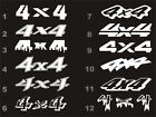 4x4 decals fits Toyota Tundra Tacoma bedside 12 styles 15 colors $10.6 USD on eBay