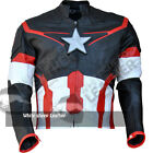 Avengers 2 Age of ultron captain america costume replica Real leather jacket