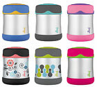 Thermos Foogo Vacuum Insulated Stainless Steel 10-Ounce Food Jars, 6 Styles