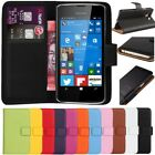 Flip Wallet Leather Case Cover For Nokia Microsoft Lumia 550 + Free Screen Guard