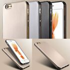 New Shockproof Rubber/Silicone Metal effect Soft Case Cover For iPhone 6 6s Plus