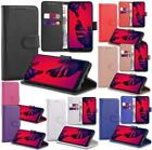 Wallet Flip Cover Leather Case for Huawei P8 Lite + Small Stylus + Screen Guard