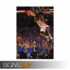 RUSSELL WESTBROOK - OKLAHOMA CITY THUNDER BASKETBALL NBA (1110) Poster Print