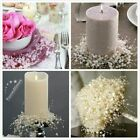 5m White Ivory Pearl Bead Garland Spool Bouquet Party Table Wedding Decorations