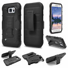 Belt Clip Holster Armor Case Cover For Samsung Galaxy S3 S4 S5 S6 Edge/Plus +