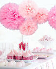 10pcs Wedding Party's Outdoor Tissue Paper Poms Flower Balls Craft Decoration 6""