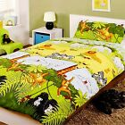 Kidz Cheeky Monkey Jungle AnimalsTheme Duvet Set Toddler,Single or Double