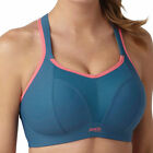 New Panache Sports 7341 Grey Coral Multiway Non Wired Bra D-H Cup VARIOUS SIZES