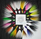 1/2, 3/4, 1, 1 1/2 oz Wolf Custom Minnow Bucktail Jig BLN Flounder Fluke Snook
