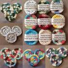 Set of 3 Handmade 100% Cotton Crocheted Face Scrubbie Pads EcoFriendly Reusable