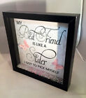My Best Friend Sister, Sparkle Crystal Word Art Pictures, Home Decor