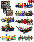 Lego & Custom Super Heroes Mini Figures Batman Ninja Turtle Star Wars Marvel NEW
