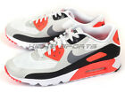 Nike Air Max 90 Ultra Essential Running White/Grey-Infrared-Black 819474-106