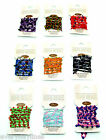 Boho Beads String & Bead Bracelet - Costume Jewellery - Choice of Colours