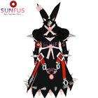 Halloween Guilty Gear Xrd -SIGN- Elphelt Valentine Cosplay Costume White & Black