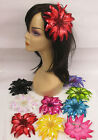 PICK 1--BEAUTIFUL FLOWER 2 WAY 6 INCH DIA. HAIR CLIP, PONYTA