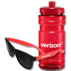 300 Water Bottles and Sunglasses Custom Printed with Your Logo or Message