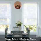 Sheer White Roller Blind - Made To Measure Sheer / Voile Blinds From Just £25.00